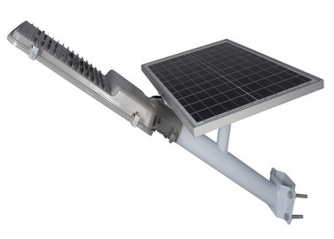 Solar Light Street Lamp With Sensor 30w 50w / Commercial Solar Powered Parking Lot Lights