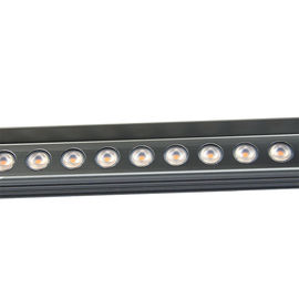China IP65 Outdoor 24V Linear LED Wall Washer Lights RGB Stainless Steel Body factory